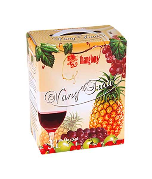 Rượu Vang Tươi Thăng Long 3 Lít