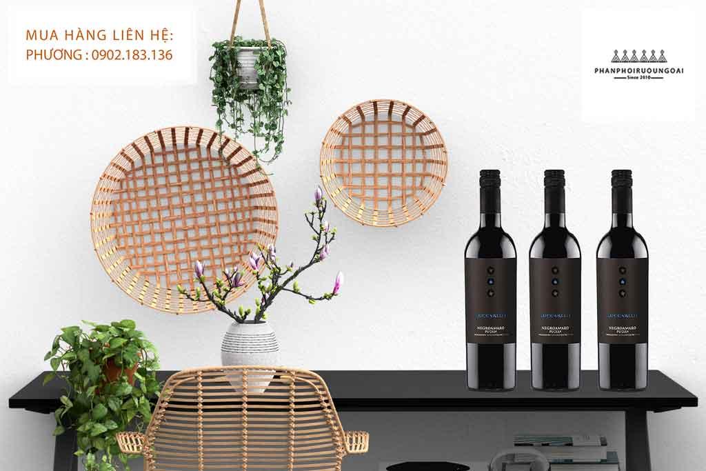Rượu vang Ý giá rẻ Luccarelli chất lượng cao