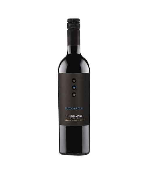 Rượu vang Ý giá rẻ Luccarelli Negroamaro
