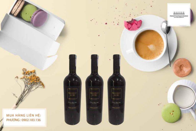 Rượu Vang Ý Ngọt giá rẻ Massimo Gori thích hợp cho các bữa tiệc nhẹ của bạn và gia đình