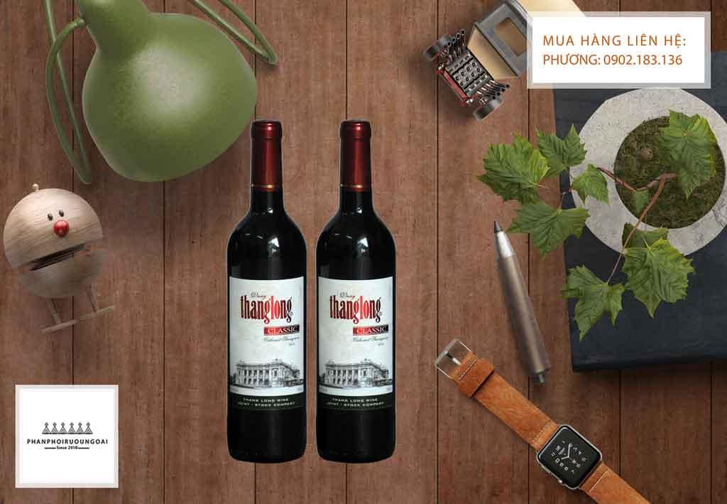 Showcase Rượu Vang Thăng Long Classic