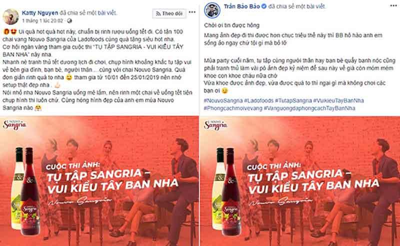 Kathy Nguyễn thừa nhận yêu Rượu Vang Nouvo Sangria