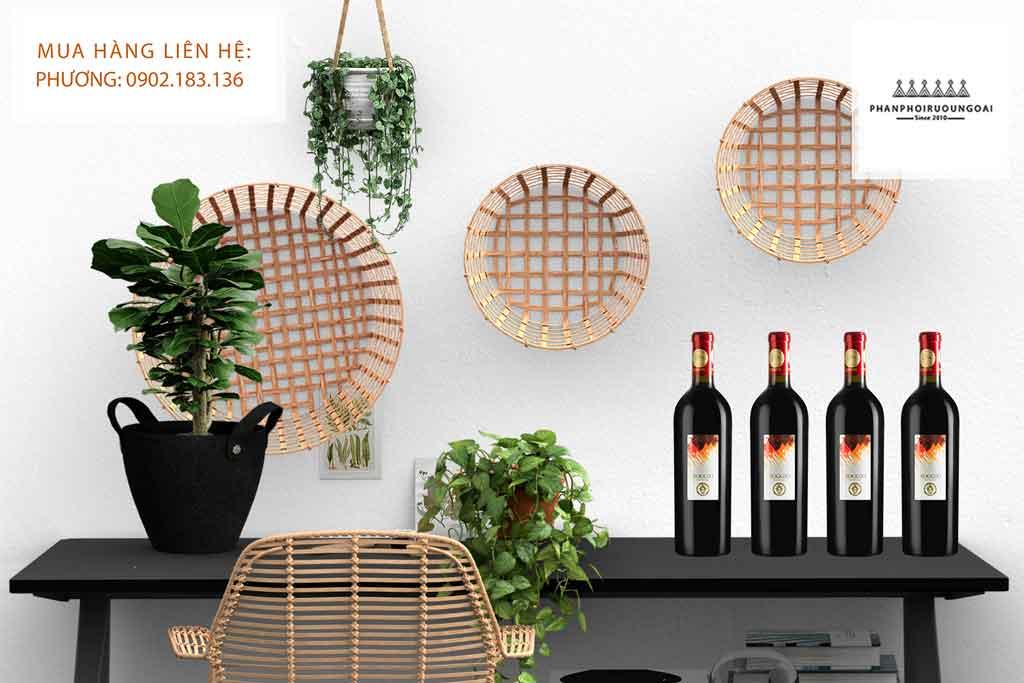 Ảnh Rượu Vang Roggio Del Filare Rosso Piceno DOC Superiore thích hợp cho biếu tặng