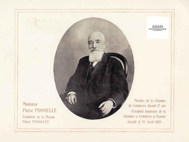 Ngài Pierre Ponelle người mang sứ mệnh nâng tầm rượu vang Pháp