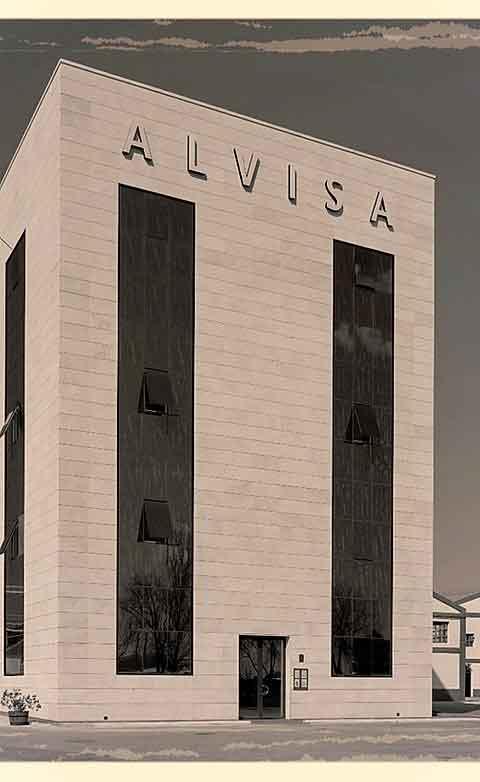 Nhà máy sản xuất rượu Vang Tây Ban Nha Alvisa