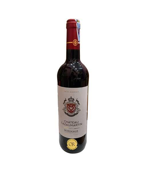 Rượu Vang Pháp Chateau CazauMartin Bordeaux AOC