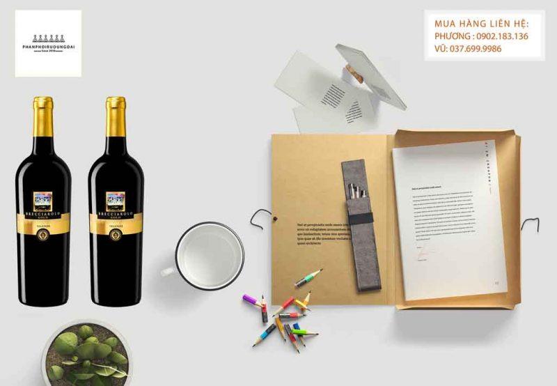 Ảnh Rượu Vang Ý Velenosi Brecciarolo Gold