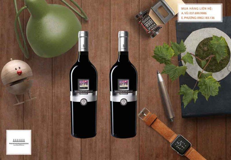 Ảnh Rượu Vang Ý Brecciarolo Rosso Piceno DOC Superiore
