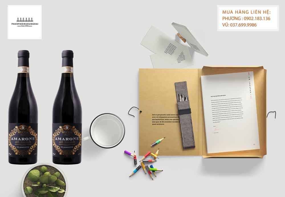 Ảnh Rượu Vang ý Amarone della Valpolicella DOCG Classico