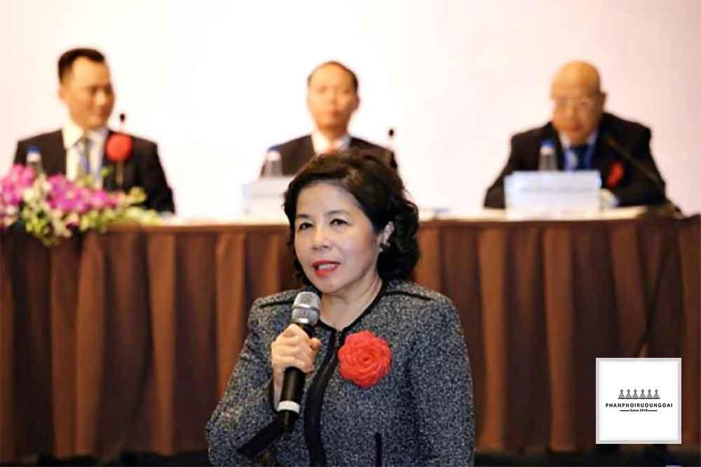 Bà Mai Kiều Liên trở thành chủ tịch của GTNFoods và trả lời câu hỏi của các cổ đông