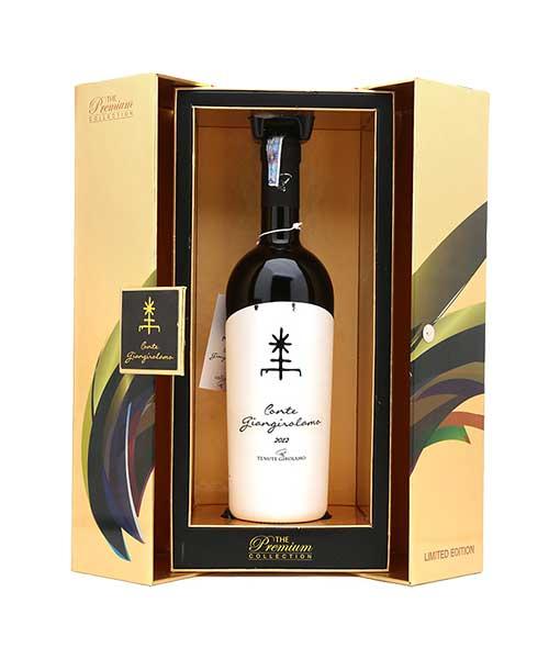 Hộp giấy rượu vang Ý Conte GIangirolamo