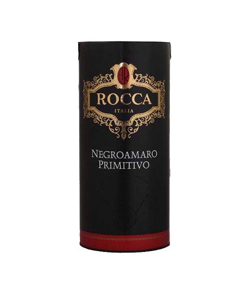 Ảnh Rượu vang Bịch Ý Rocca Negroamaro Primitivo 3 Lít