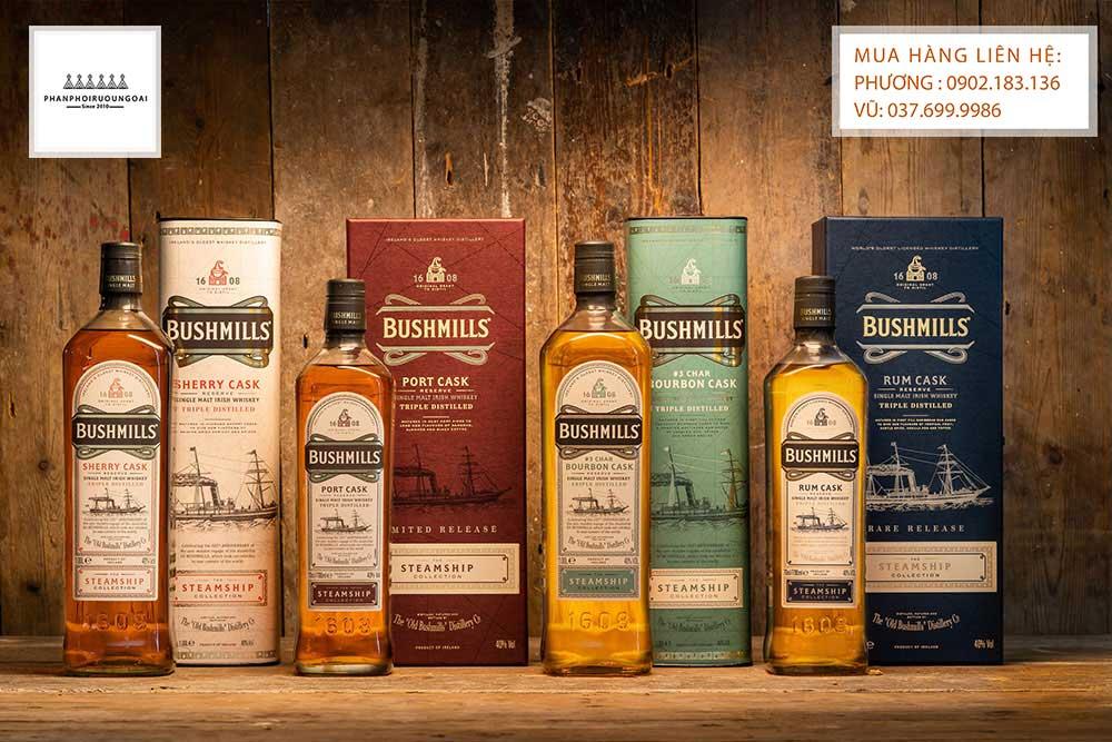 Các loại rượu Bushmills - Irish Whisky