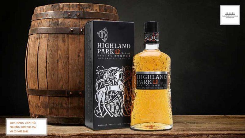 Hình ảnh rượu Highland Park 12 Year Old Viking Honour
