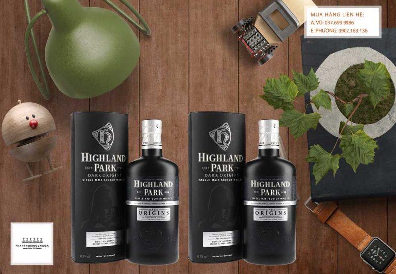Hình ảnh rượu Highland Park Dark Origins tinh thần của nhà sáng lập