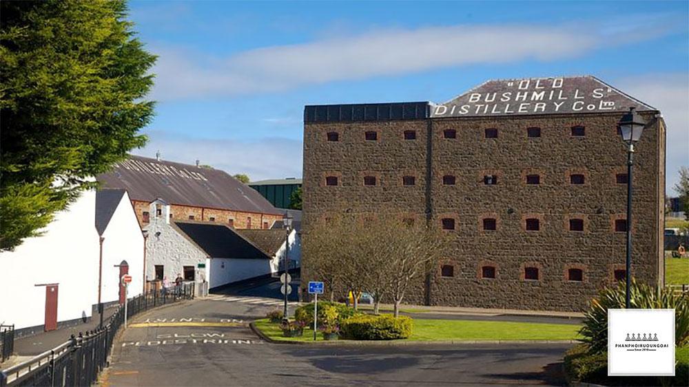 Nhà máy sản xuất rượu Whisky Bushmills