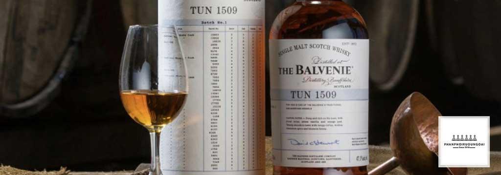 Rượu Balvenie được làm từ Tun 1509