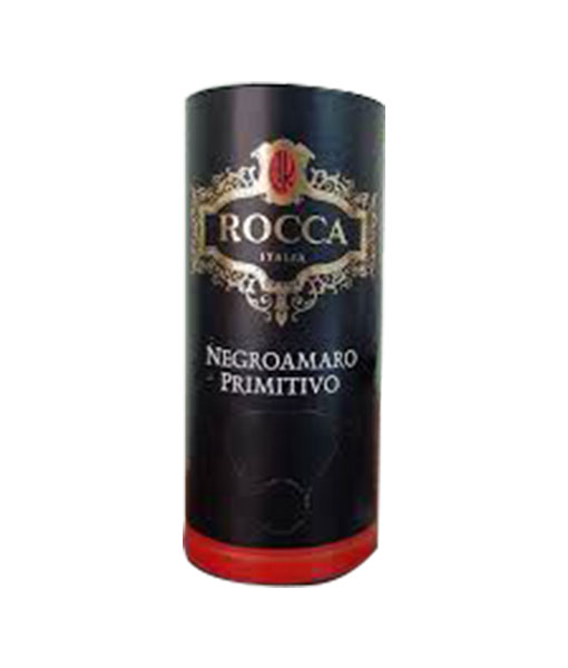 Rượu Vang Bịch Ý Rocca Negroamaro Primitivo 3 L