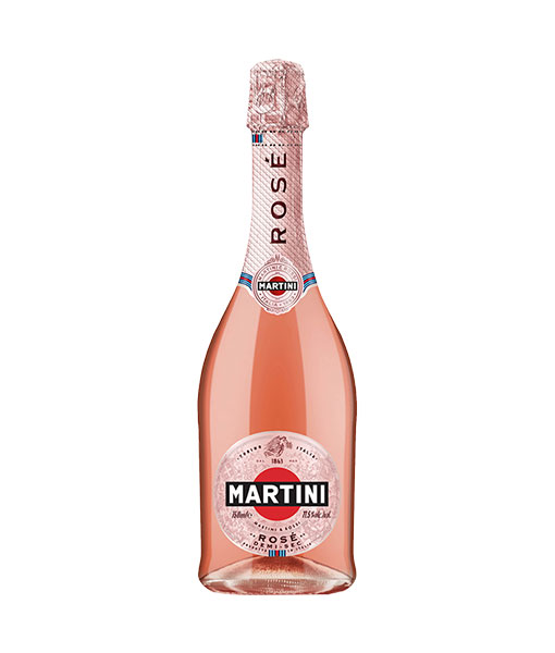 Rượu vang nổ ý Martini Rose Demi-sec
