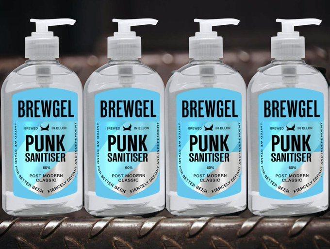 Nước rửa tay từ nhà sản xuất bia rượu châu âu