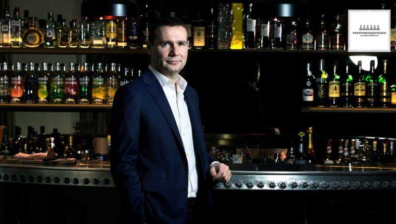 Alexandre Ricard giám đốc điều hành của Pernod Ricard