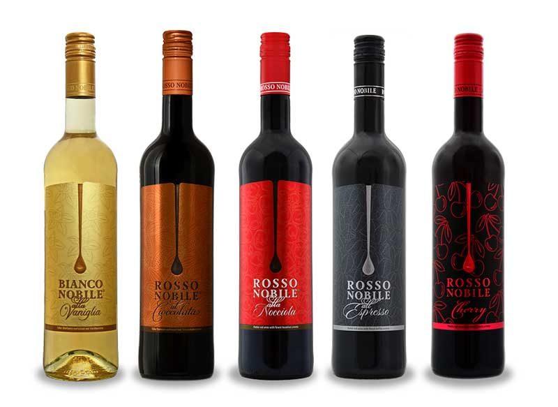 Các loại rượu vang Rosso Nobile của Đức
