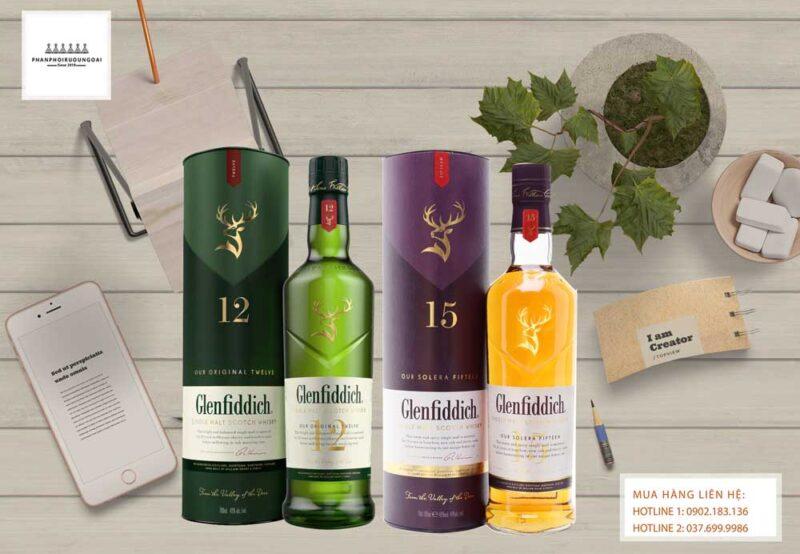 Mẫu chai mới được ra mắt trong năm 2020 của nhà Glenfiddich