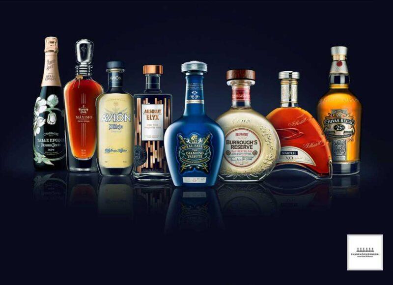 Những sản phẩm rượu cao cấp của nhà Pernod Ricard
