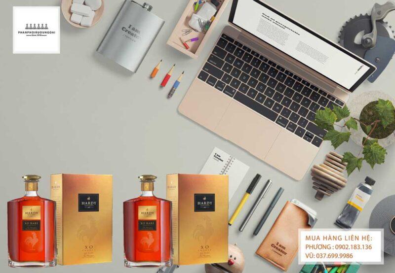 Rượu Cognac Hardy XO thích hợp cho biếu tặng và thưởng thức