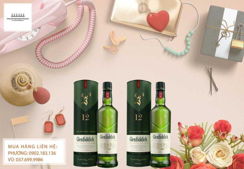 Rượu Glenfiddich 12 năm mới ra mắt năm 2020
