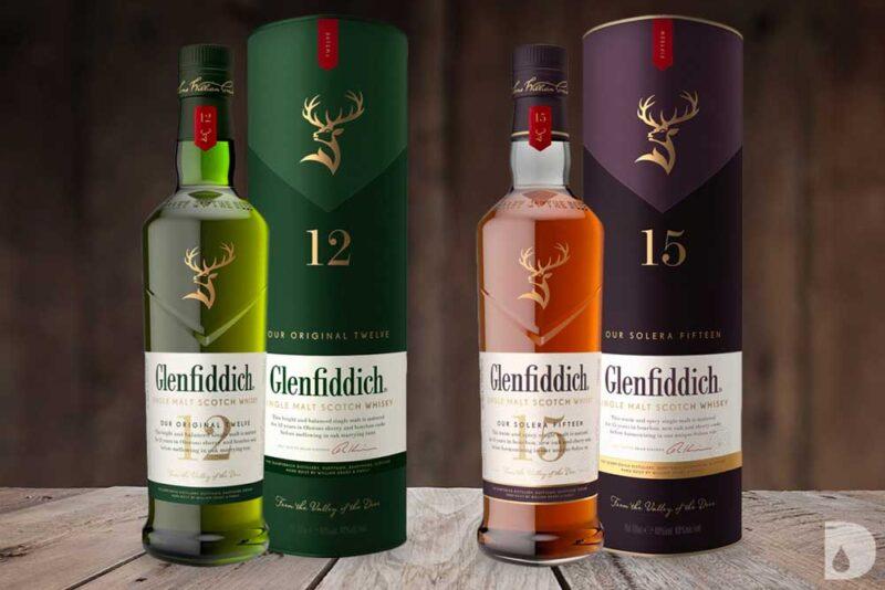 Rượu Glenfiddich thay đổi kiểu kiểu dáng năm 2020