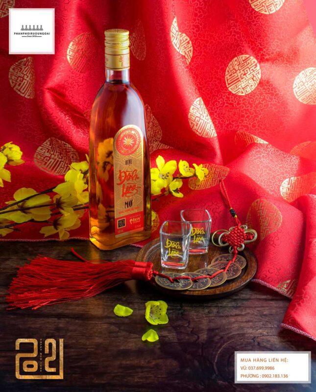 Rượu Mơ Đình Làng cho mùa tết nguyên đán 2021