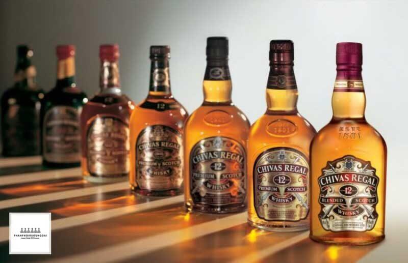 Sản phẩm chiến lược Chivas Regal của tập đoàn Pernod Ricard tại Việt Nam