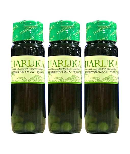 Các chai rượu Mơ nhật Bản Haruka 750 ml