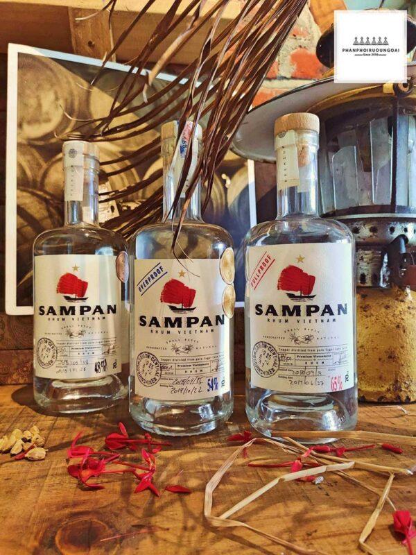 Các loại rượu Rhum Sampan được cung cấp trên thị trường