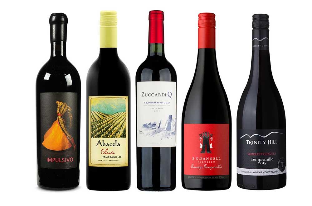 Top 5 loại rượu vang tốt nhất từ nho rượu Tempranillo