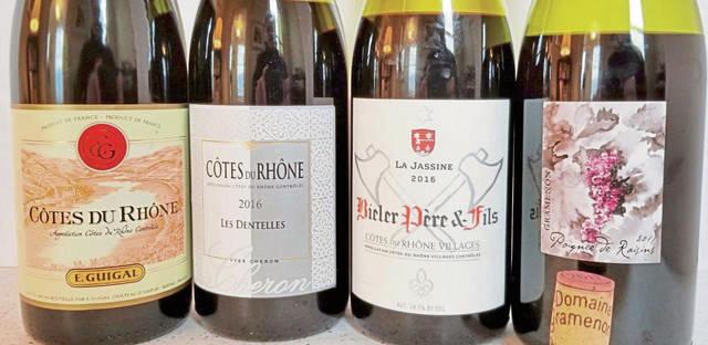 Top các loại rượu vang Pháp phải thử tại Rhone Valley