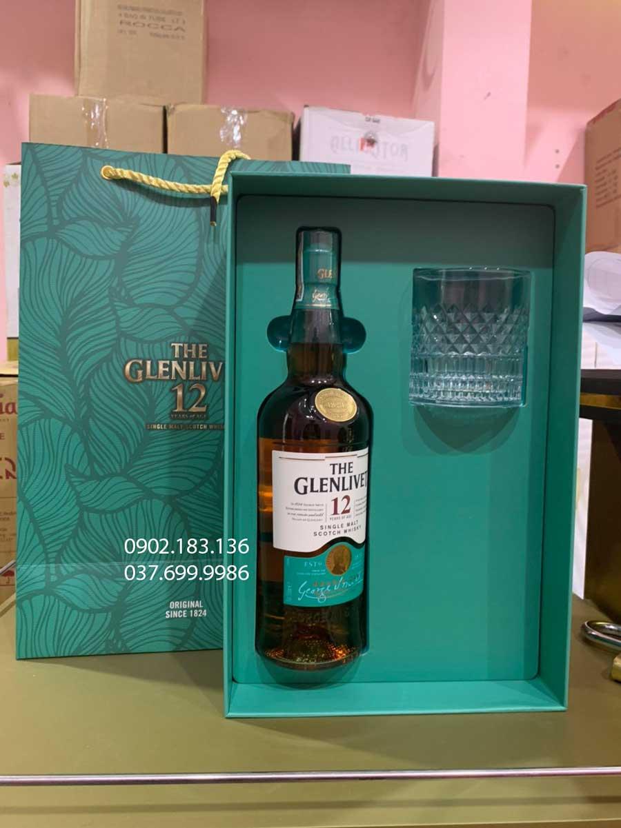 Ảnh Rượu The Glenlivet 12 năm Double Oak hộp quà tết 2021