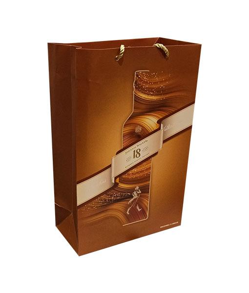 Ảnh thực tế rượu Johnnie Walker 18 năm hộp quà tết 2021