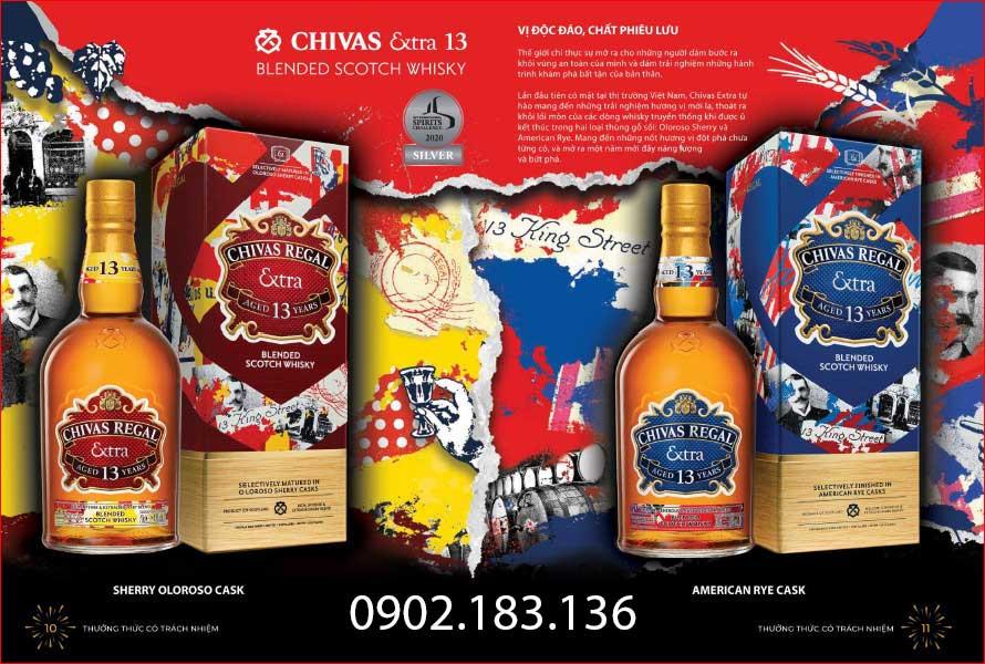 Bộ sưu tập rượu Chivas Extra 13 năm Sherry Cask