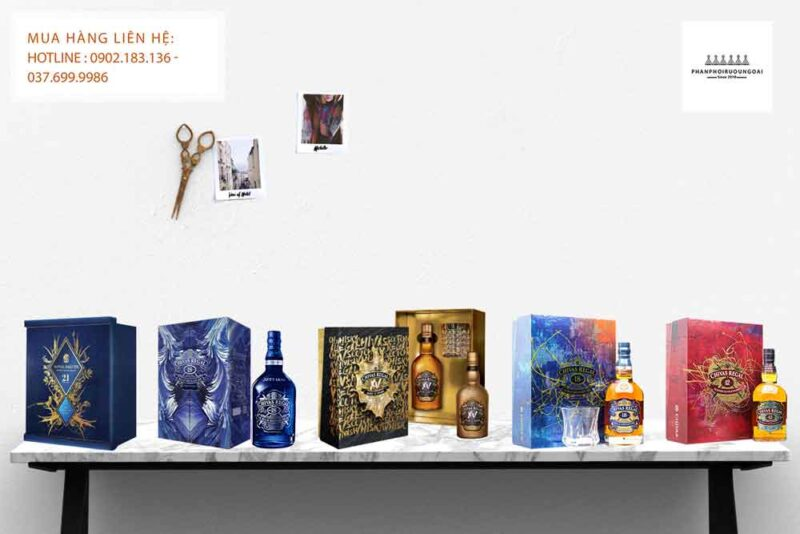 Các mẫu hộp quà tết rượu Chivas Regal trong năm 2021 đẹp và sang trọng