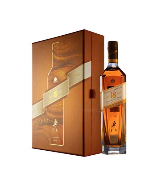 Hình ảnh của rượu Johnnie Walker 18 năm hộp quà tết 2021