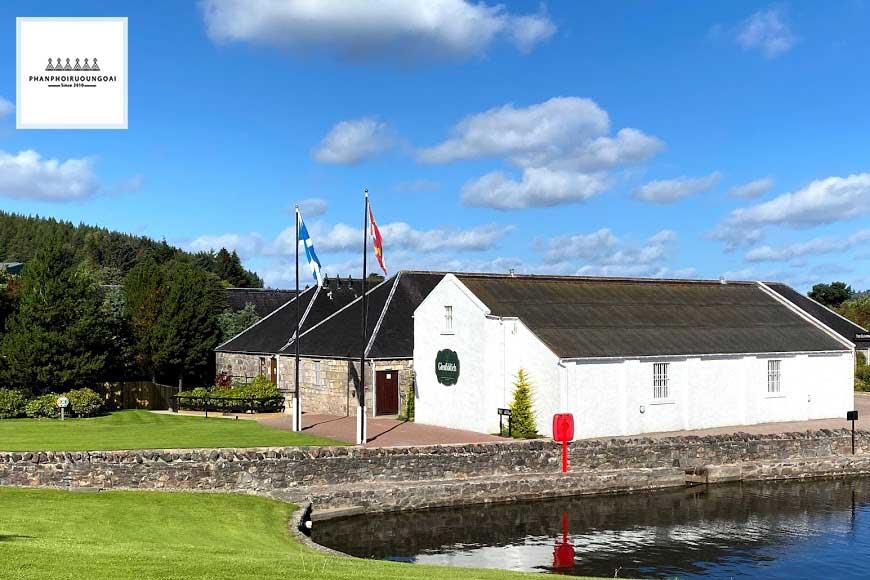 Khu trưng cất rượu của nhà Máy rượu Glenfiddich