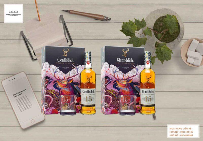 Lịch lãm và sang trọng với rượu Glenfiddich 15 năm hộp quà tết 2021