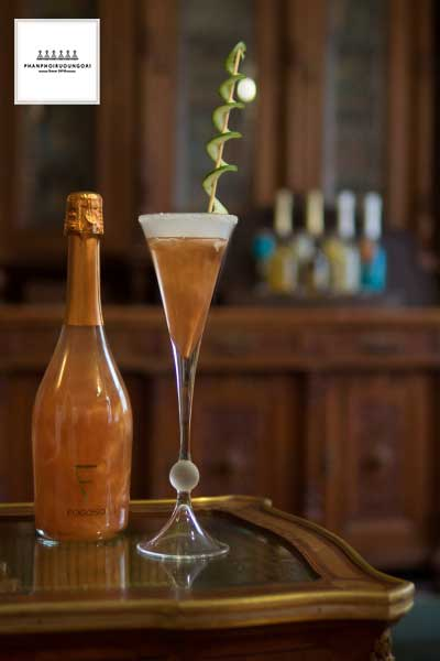 Ly Cocktail sang trọng Fogoso Bronce