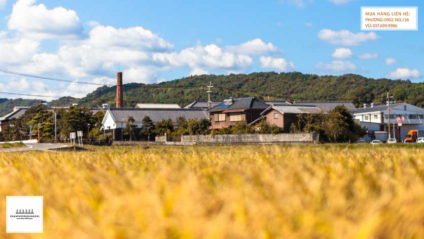 Nhà máy rượu Sake Nishi no Seki tại Nhật Bản