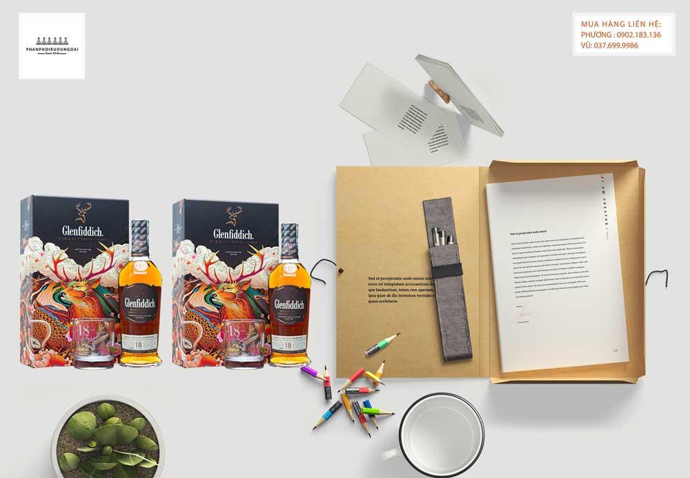 Quá trình thử nếm rượu Glenfiddich 18 năm hộp quà tết 2021