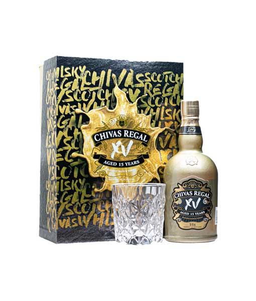 Rượu Chivas XV hộp quà tết 2021 hay rượu Chivas 15 hộp quà tết 2021