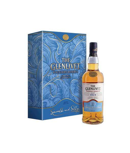 Rượu Glenlivet 1824 Founder's Reserve hộp quà tết 2021