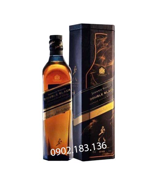 Rượu Johnnie Walker Double Black Label hộp quà tết 2021